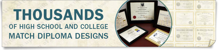 thousands of fake diploma and transcript designs