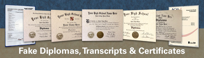 Buy Fake Diplomas, Transcripts and Certificates