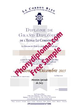Le-Cordon-Bleu-Fake-Diploma-Sample-from-PhonyDiploma Cert-LeCordonBleu