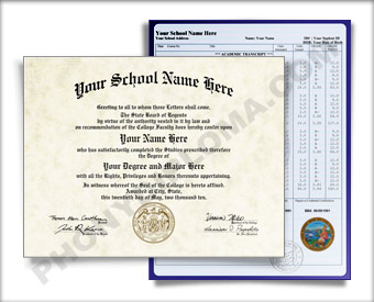 College Diploma & Transcripts, Midwest Design COL MidWest D+T