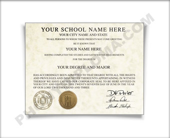 College Diploma, Northeast Design Col Northeast D