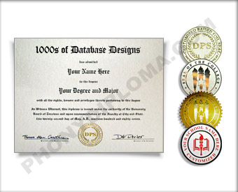 College Diploma Actual Match Design