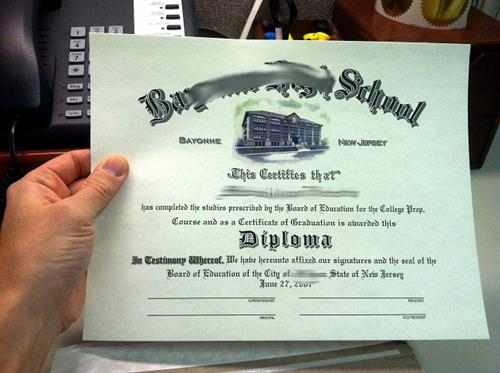 Fake Diploma from your Scan - PhonyDiploma.com
