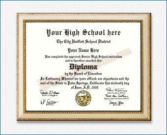 High School Diploma, Great Lakes Design HS Great Lakes D