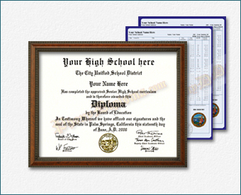 High School Diploma and Transcripts, Eastern Design HS Eastern D+T