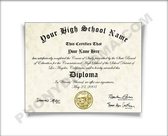 Fake High School Diploma, Northwest Design HS Northwest D