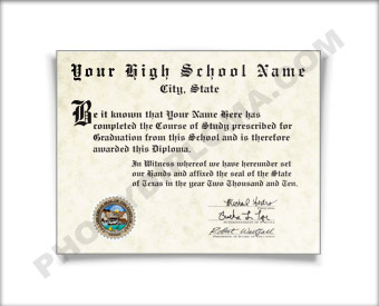 Fake High School Diploma, Southwest Design HS Southwest D