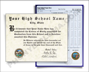 High School Diploma and Transcripts, Southwest Design HS SW D+T