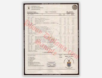 Fake diploma samples from africa phonydiploma university of witwatersrand fake transcript sample from africa yelopaper Choice Image