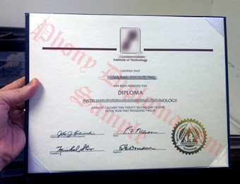 Southern Alberta Institute of Technology - Fake Diploma Sample from Canada