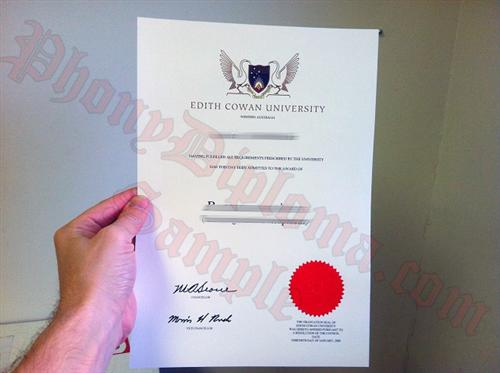 Buy fake diploma and degree from australian university cowan university australia fake diploma from phonydiploma yelopaper Image collections