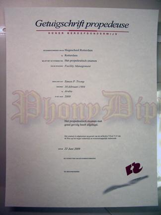 fake diploma from german university com getuigschrift propedeuse fake diploma from brandenburgische