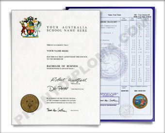 International College  Diploma and Transcripts, Australian Design #2 Int Aus 2 D+T