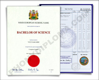 Fake Diploma and Transcripts from Wales University Wales D&T