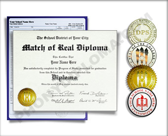 Fake International Actual Match Diplomas and Transcripts