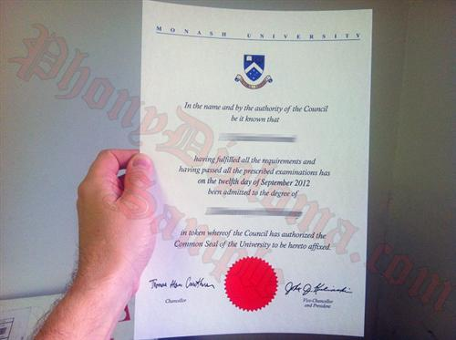 Buy fake diploma and degree from australian university royal melbourne institute of technology phoeo monash university australia fake diploma from phonydiploma yadclub Images