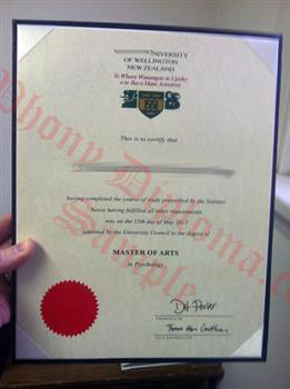 Fake Diploma from New Zealand University - PhonyDiploma.com
