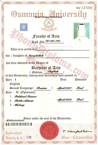 Fake Diploma From India University  PhonydiplomaCom