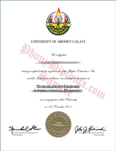 International Business order of college degrees