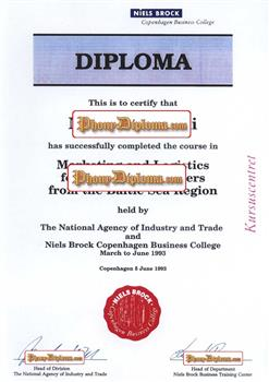fake diploma from denmark university denmark d
