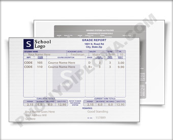 Fake Report Card Design 1 RptCrd 1