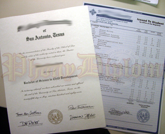 Fake Diplomas and Transcripts for High School Sample 2