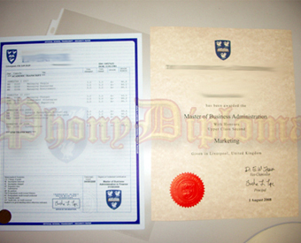 International United Kingdom Fake Diploma and Transcripts Package