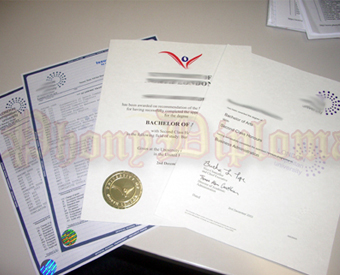Fake Diplomas and Transcripts for High School Sample 4
