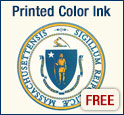 Printed Color Ink