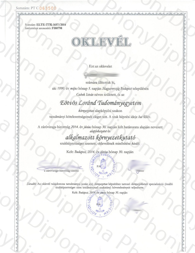 Hungary Sd Pd Rd Eotvos Lorand University