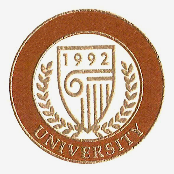 Fake Diploma Raised Foil Dual Colored University Seal