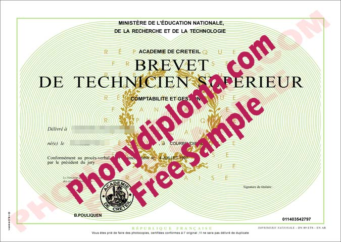 Bts France Brevet Gestion Free Sample From Phonydiploma
