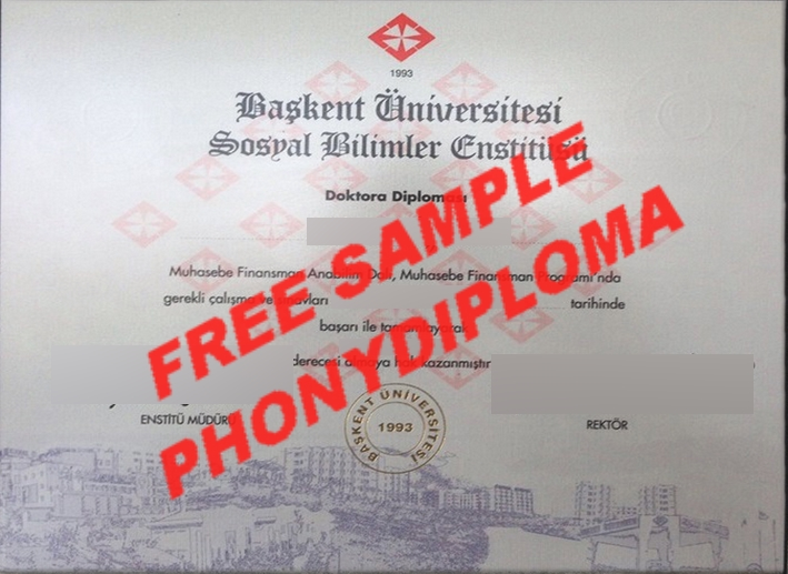 Baskent University Free Sample From Phonydiploma