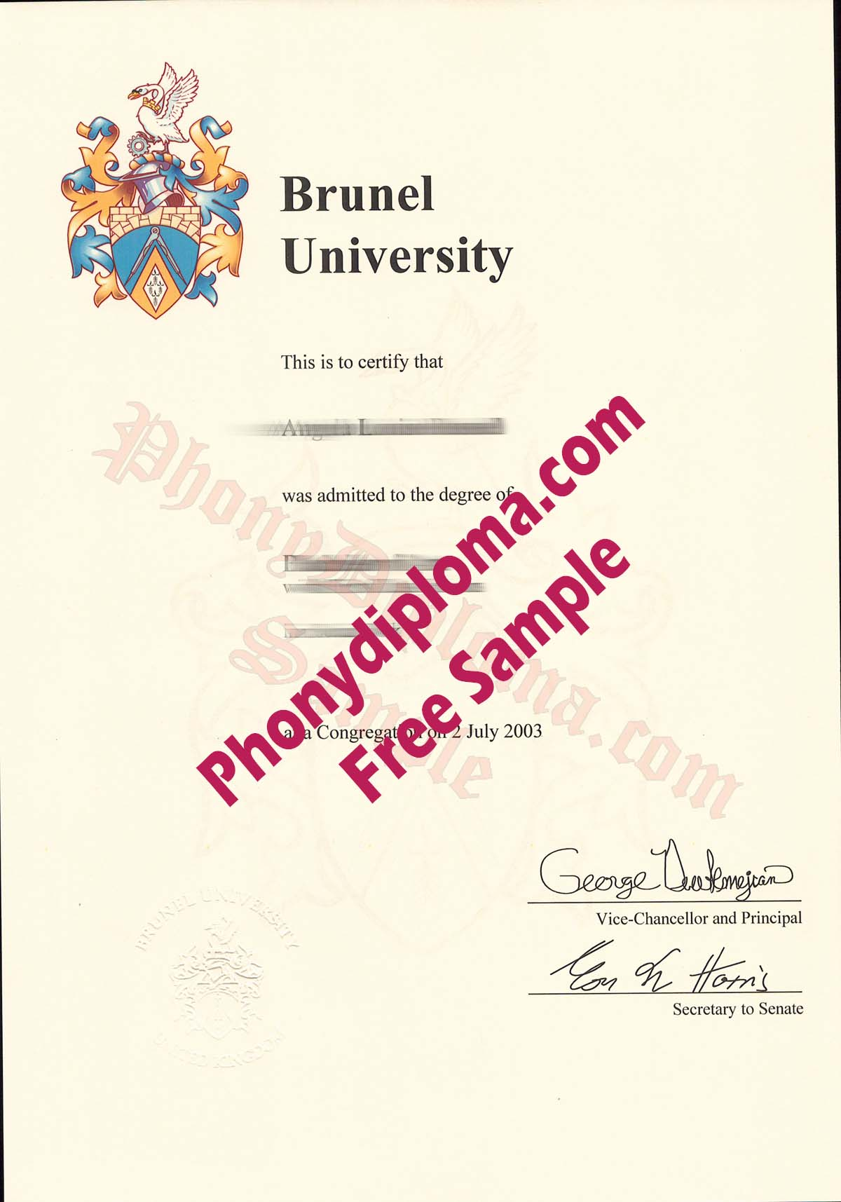 Thousands of Diploma, Transcript, Degree and Certificate