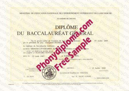 france academie de creteil 3 fake diploma sample