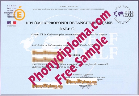 France Dalf C1 Inquiry 2 Free Sample From Phonydiploma