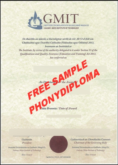Galway Mayo Institute Of Technology Free Sample From Phonydiploma