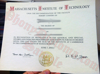Massachusetts Institute Of Technology Mit Free Sample From Phonydiploma