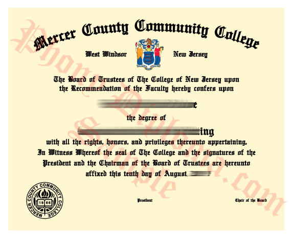 Mercer County Community College Free Sample From Phonydiploma
