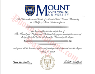 Mount Saint Vincent University Free Sample From Phonydiploma