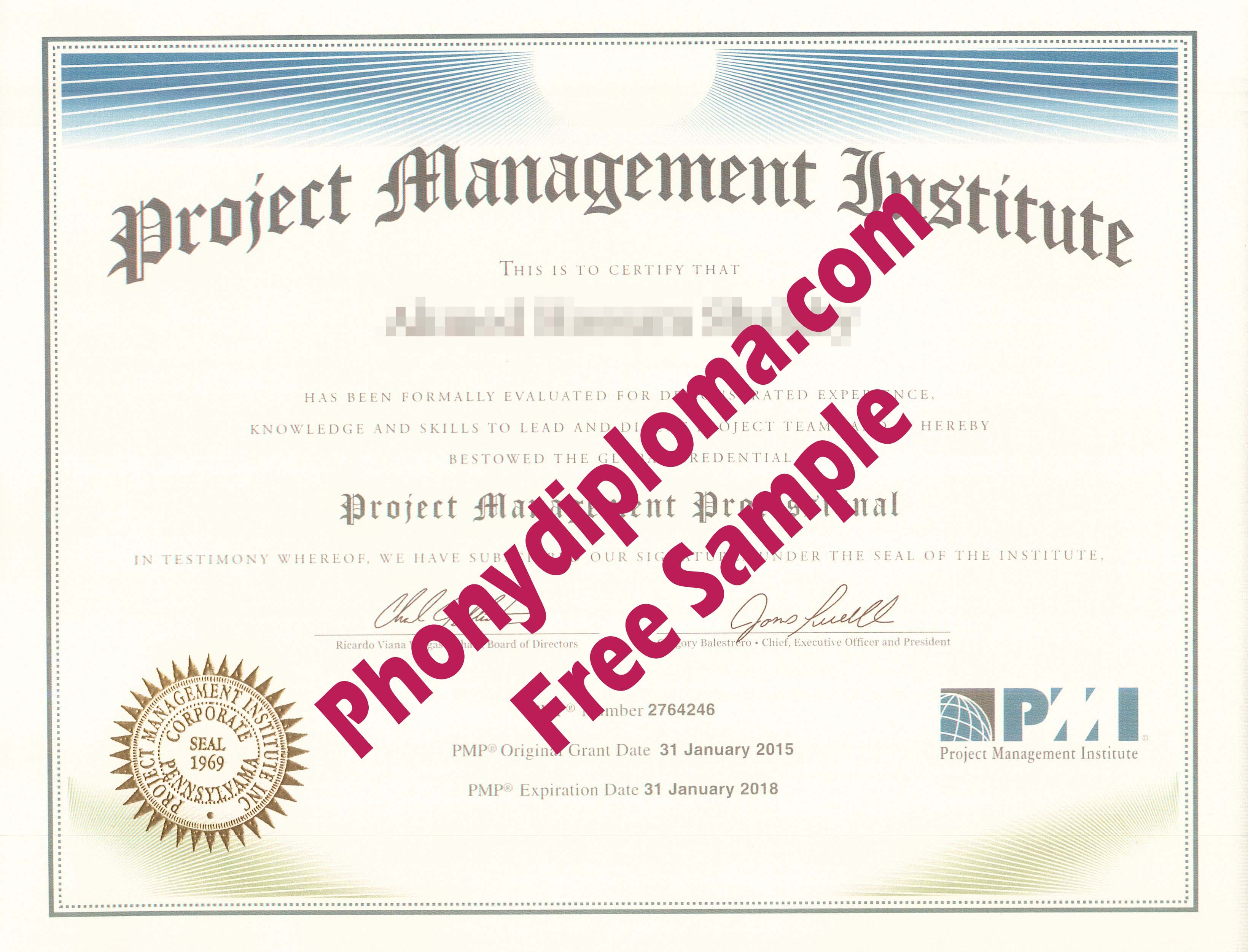 Pmi Project Management Free Sample From Phonydiploma