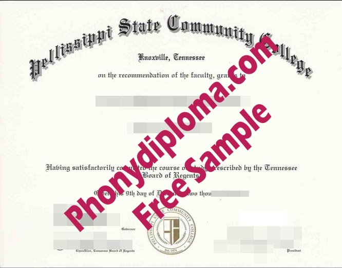 Pellissippi State Community College Free Sample From Phonydiploma