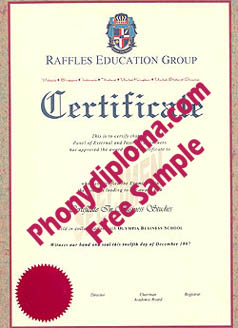 Raffles Education Group Malaysia Free Sample From Phonydiploma