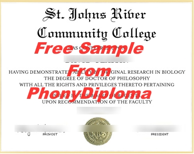 Saint Johns River State College Free Sample From Phonydiploma