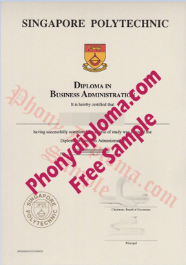 Singapore Polytechnic Free Sample From Phonydiploma
