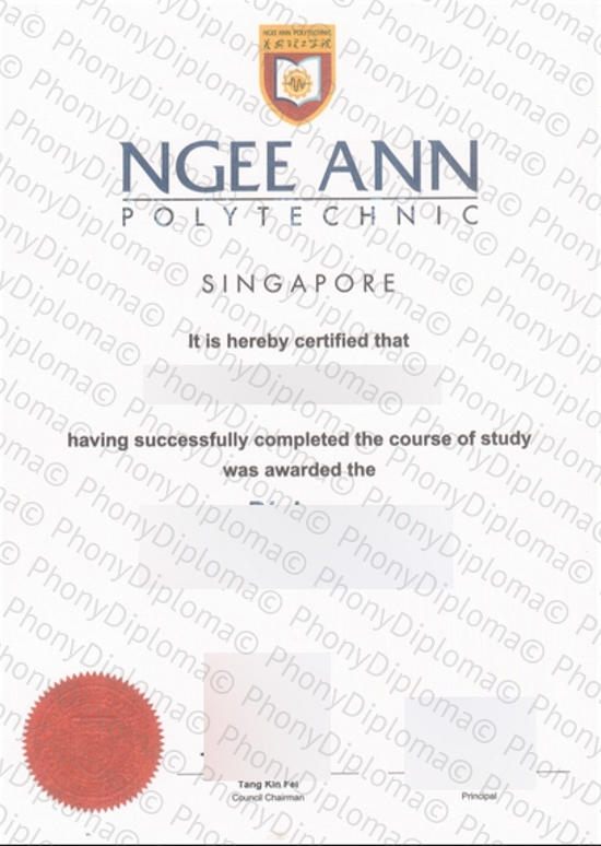 Singapore Ngee Ann Polytechnic Free Sample From Phonydiploma