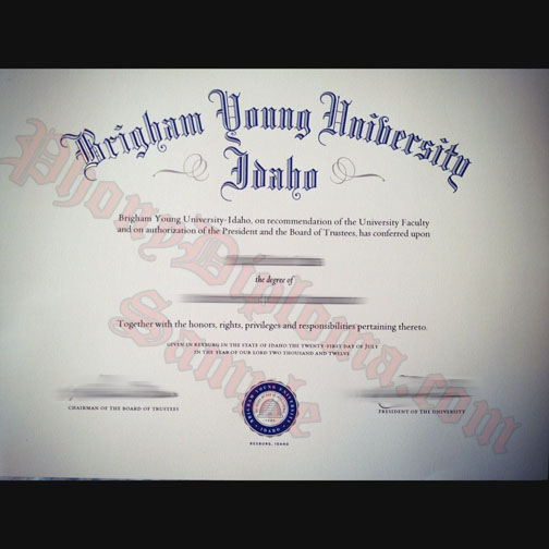 Brigham Young University Idaho Not Done