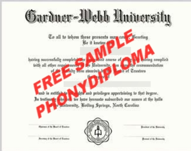 Gardner Webb University Free Sample From Phonydiploma