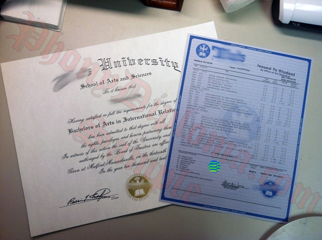 Tufts Diploma And Transcripts Photo