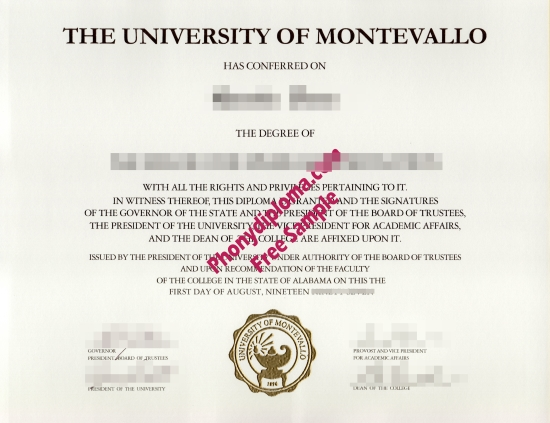 Usa Alabama University Of Montevallo Actual Match Transcript Free Sample From Phonydiploma (2)